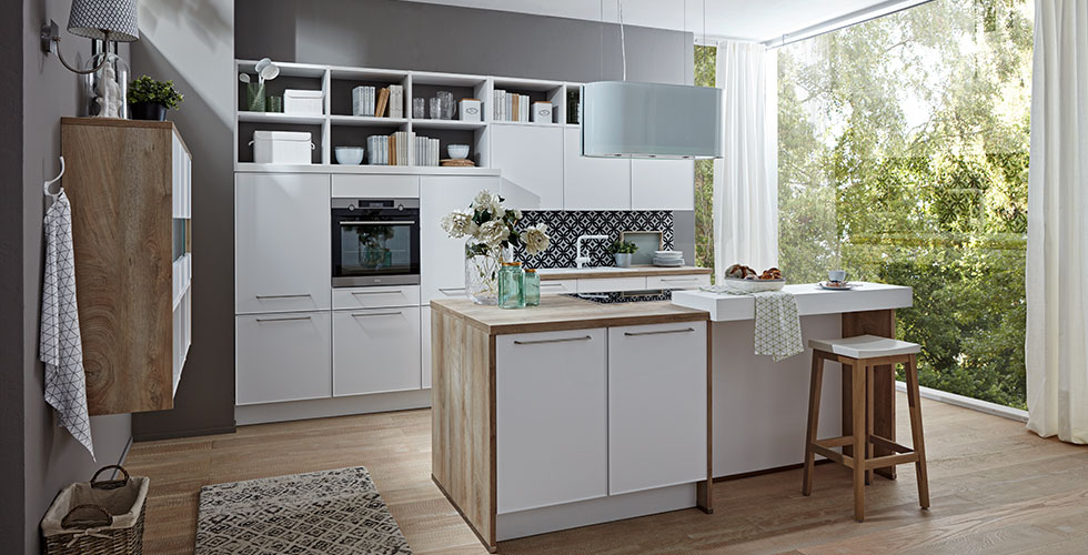 wohnk chen. Black Bedroom Furniture Sets. Home Design Ideas