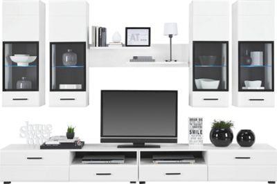 Wohnwand Hängend Modern Schwarz Wohnwände U0026 TV  Möbel Jetzt Entdecken |  Mömax