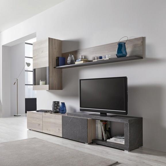 Wohnwand h ngend modern for Tv wohnwand modern