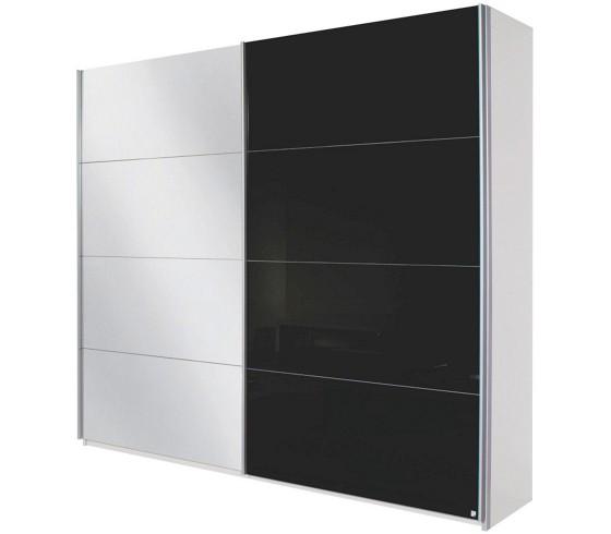 schwebet renschrank in wei schwarz schwebet renschr nke. Black Bedroom Furniture Sets. Home Design Ideas