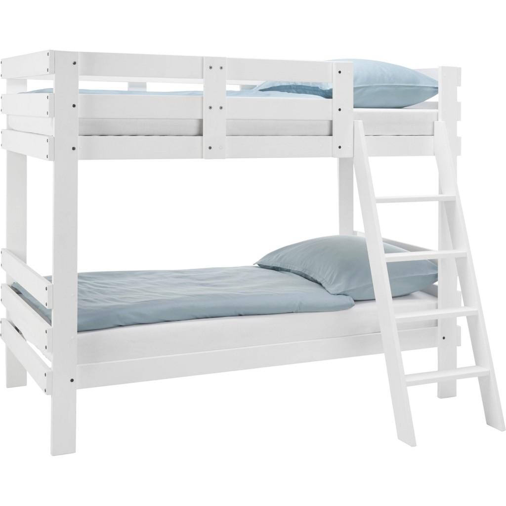 Etagenbett in Weiß, ca. 90x200cm