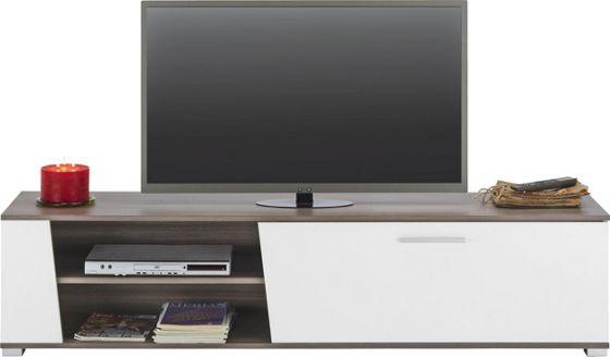 TV-Element in Braun/Weiß - TV-Aufsätze - Wohnwände & TV Möbel ...