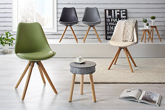 Stuhl In Weiß/Eiche Online Kaufen ➤ Mömax