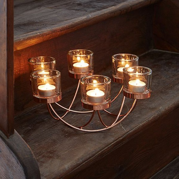 kerzenhalter eike in kupfer kerzen wohnaccessoires dekoration produkte. Black Bedroom Furniture Sets. Home Design Ideas
