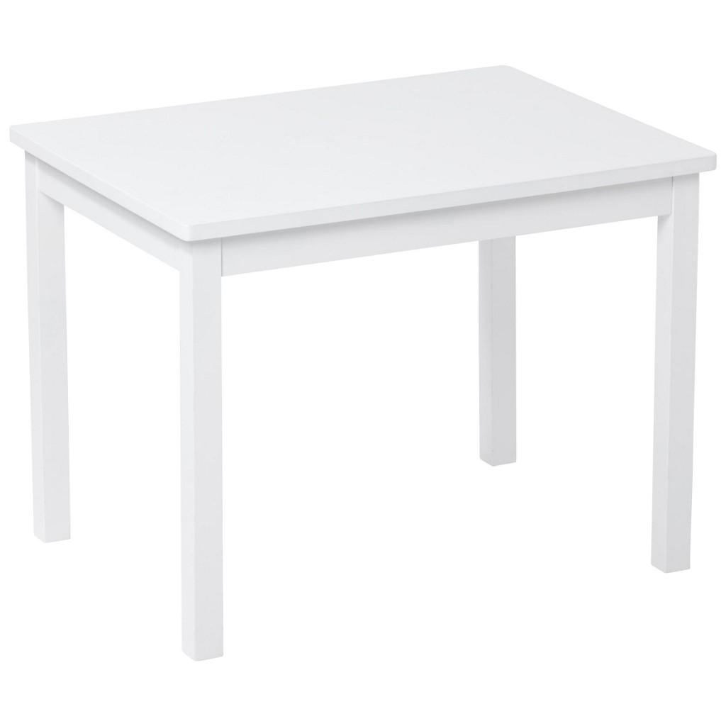 Kindertisch in Weiß, ca. 66,5x50x50cm