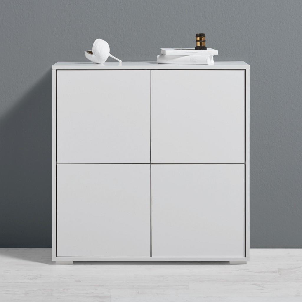 Kommode Basic in Weiß