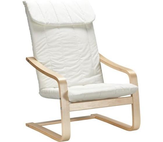 schwingstuhl in natur aus baumwolle st hle barhocker. Black Bedroom Furniture Sets. Home Design Ideas