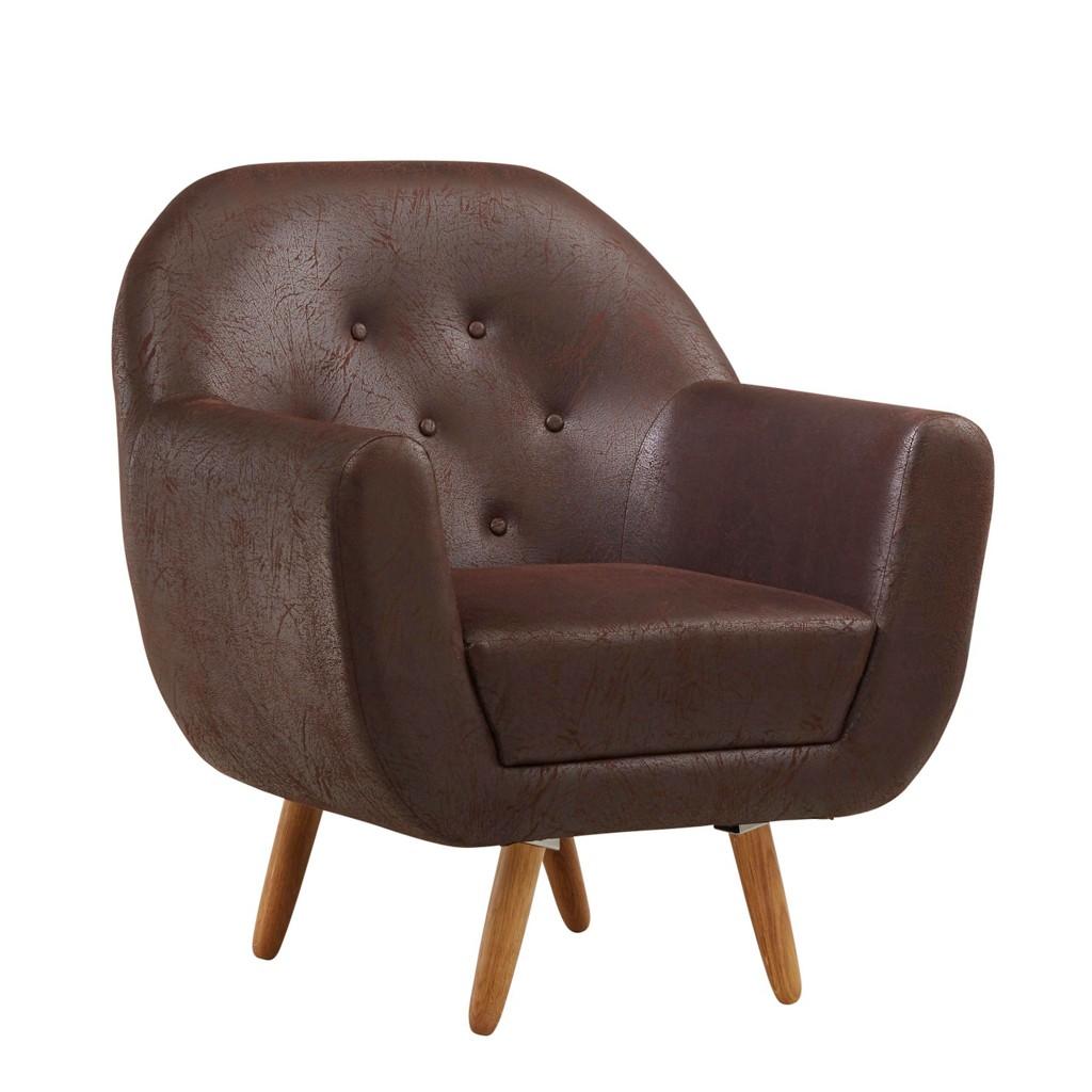 Sessel in Buchefarben