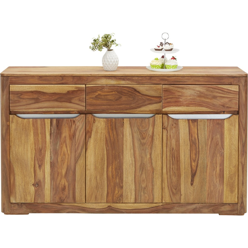 Sideboard in Natur aus Echtholz