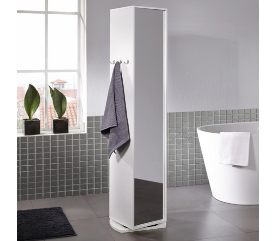 Spiegelschrank Basic In Weiß