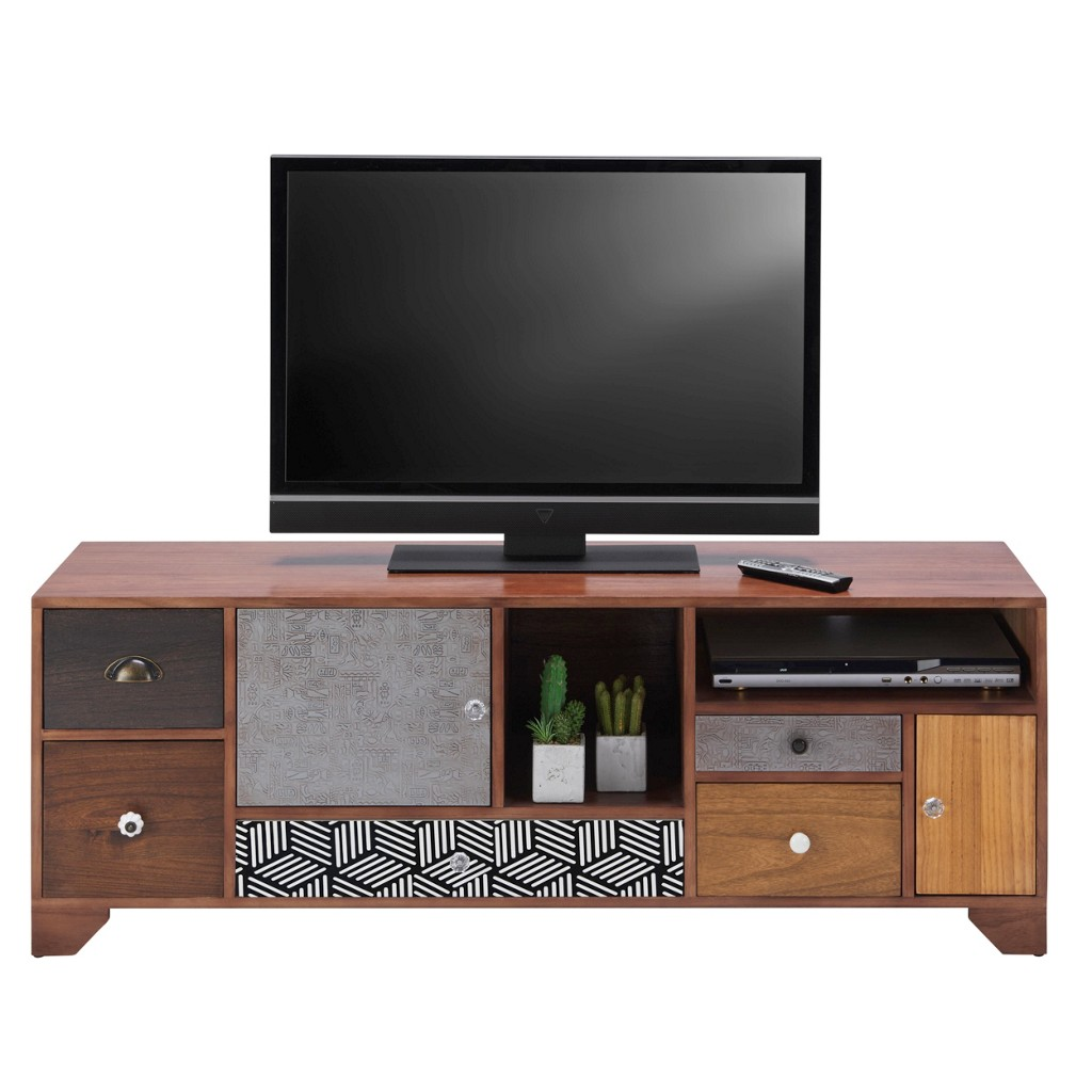 TV-Element aus Holz Im Vintage-stil Heather