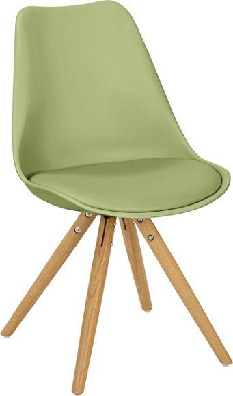 Stuhl in grün/eiche   stühle & barhocker   küchen & esszimmer ...