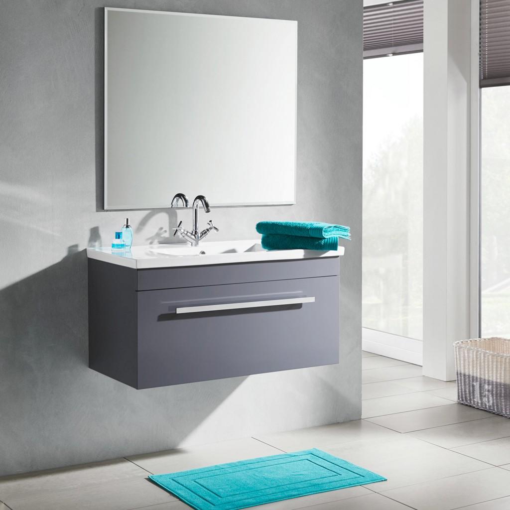 Vorschaubild von Badezimmer in Dunkelgrau Maris