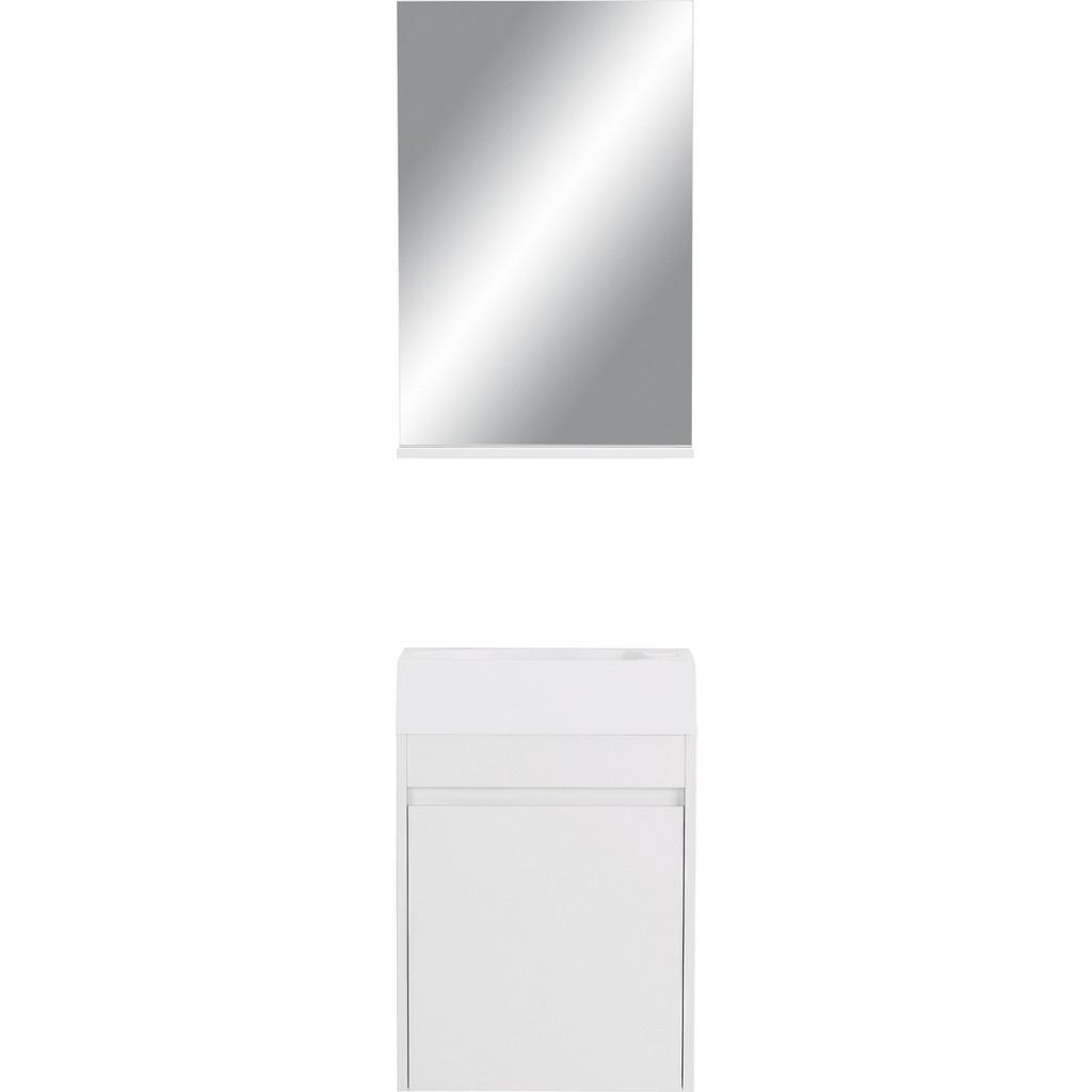 Vorschaubild von Badezimmer in Weiß Hochglanz