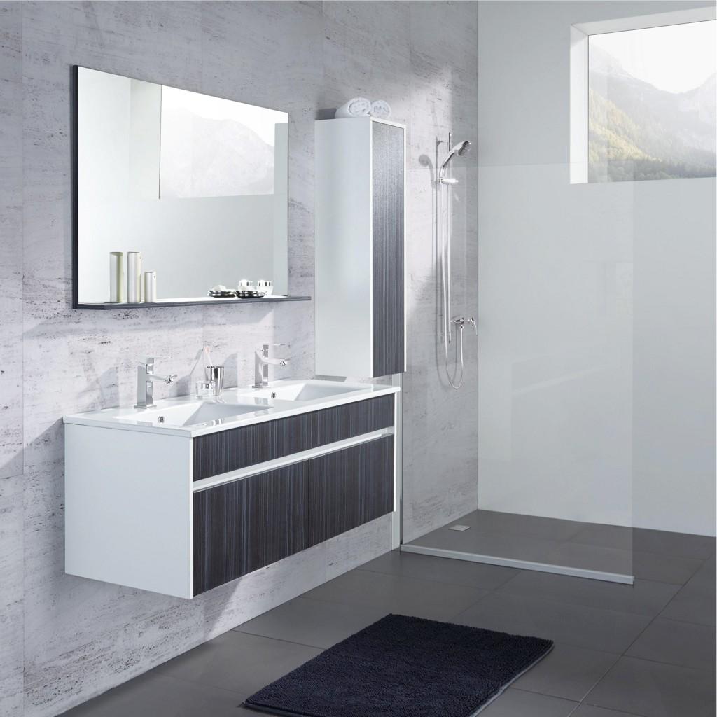 Vorschaubild von Badezimmer Massimo in Dunkelgrau