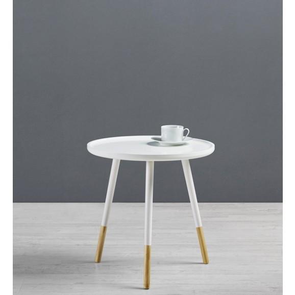 beistelltisch aus holz in wei marlies online kaufen m max. Black Bedroom Furniture Sets. Home Design Ideas