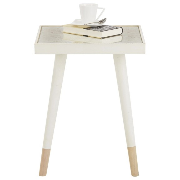 beistelltisch in natur wei online kaufen m max. Black Bedroom Furniture Sets. Home Design Ideas