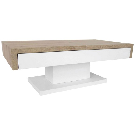 couchtisch slide in wei san remo online kaufen m max. Black Bedroom Furniture Sets. Home Design Ideas