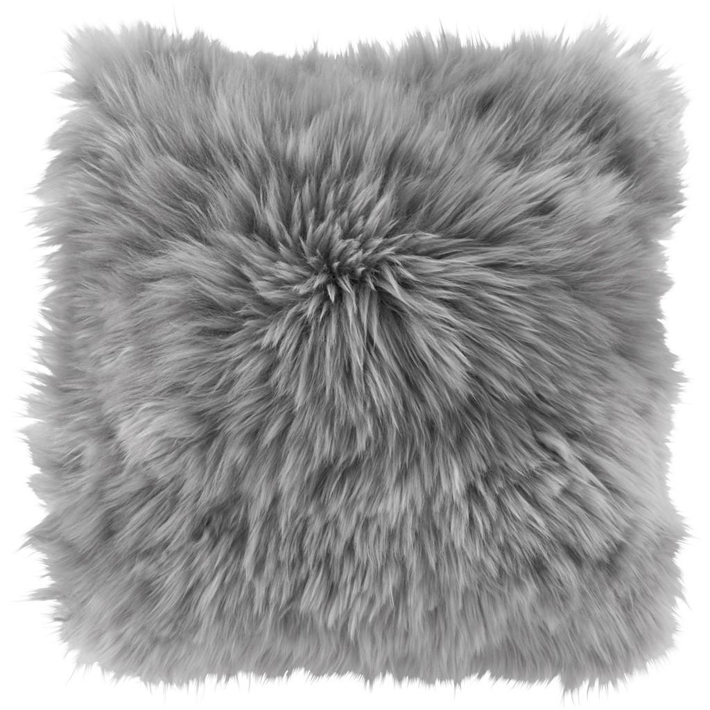 Fellkissen Leander in Grau ca. 45x45cm