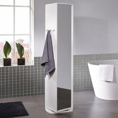Spiegelschrank Basic in Weiß   Badezimmerschränke