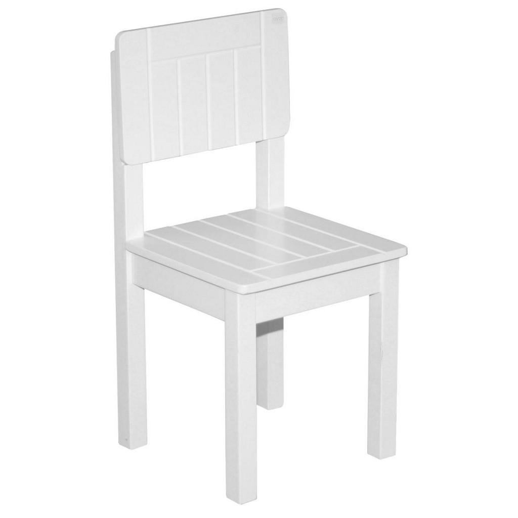 Kinderstuhl in Weiß, ca. 28,5x58,5x29cm