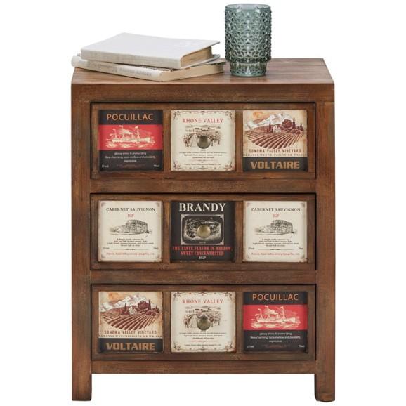 kommode aus echtholz in natur online kaufen m max. Black Bedroom Furniture Sets. Home Design Ideas