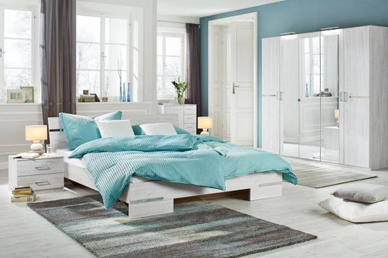 Schlafzimmer Eichefarben ca. 180x200cm - Betten - Schlafzimmer ...