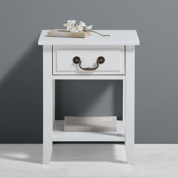 nachtk stchen in wei lennox online kaufen m max. Black Bedroom Furniture Sets. Home Design Ideas