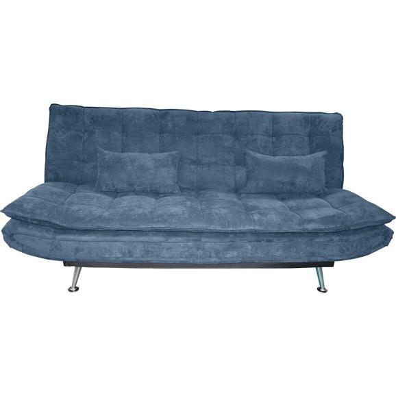 schlafsofa in blau mit bettfunktion online kaufen m max. Black Bedroom Furniture Sets. Home Design Ideas