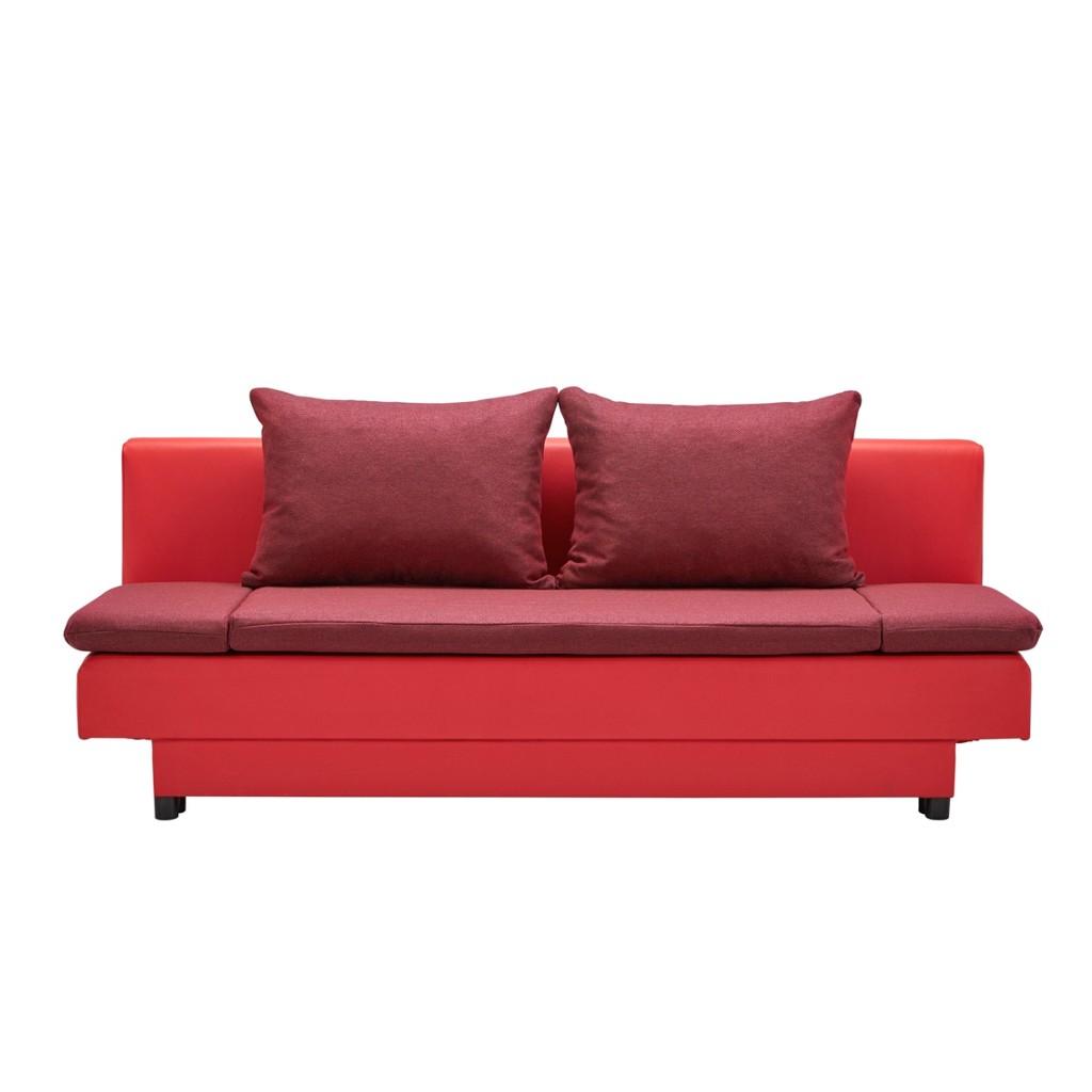 Schlafsofa in Rot