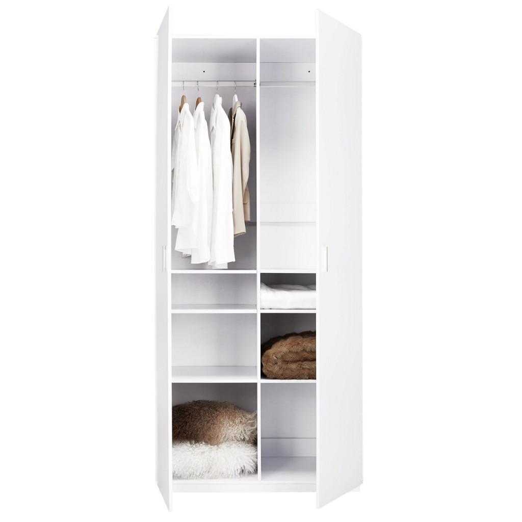 Schrank Basic in Weiß