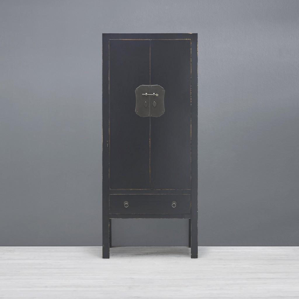 Schrank Liam Feng in Schwarz