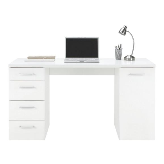 schreibtisch in wei online kaufen m max. Black Bedroom Furniture Sets. Home Design Ideas