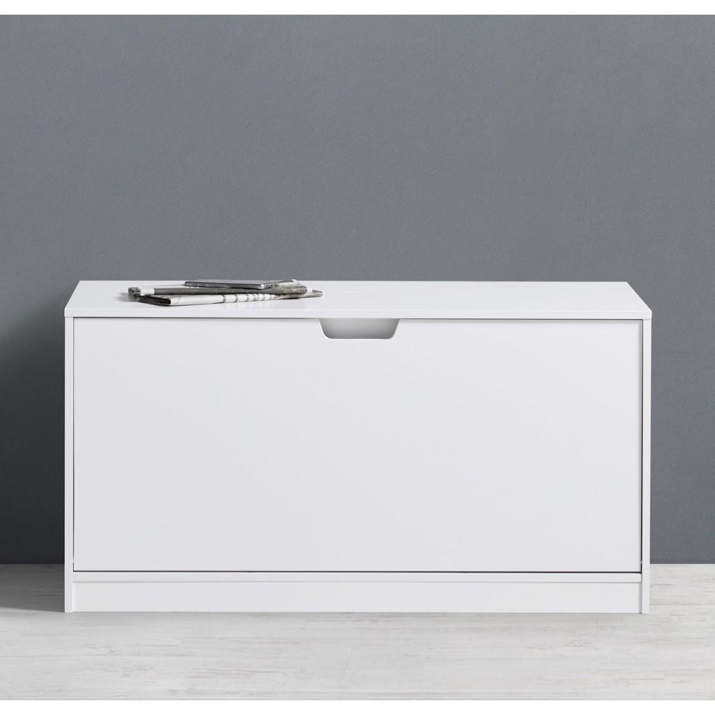 Schuhbank Basic in Weiß