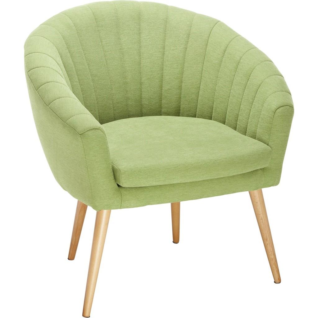 Sessel in Grün