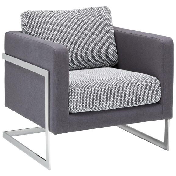 sessel in schwarz wei dunkelgrau online kaufen m max. Black Bedroom Furniture Sets. Home Design Ideas