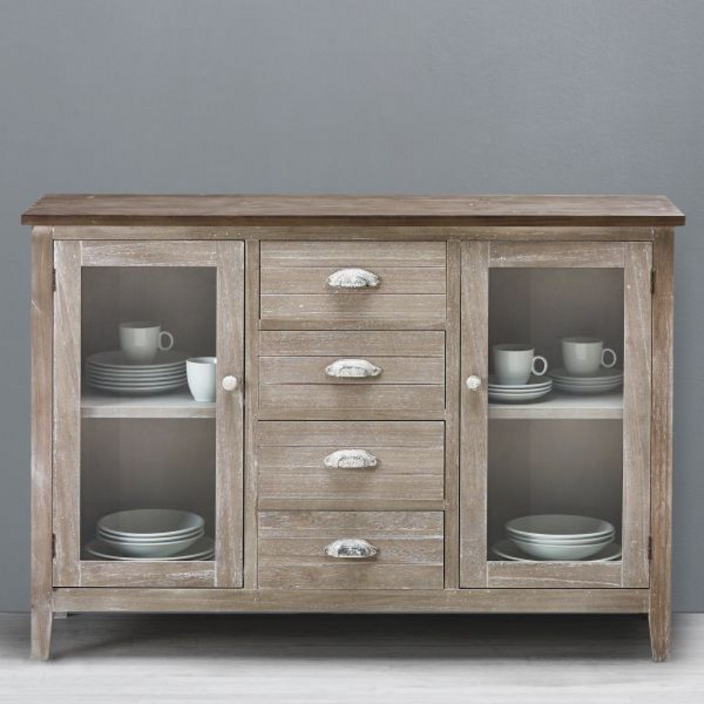 Sideboard Savannah Antik in Naturbraun