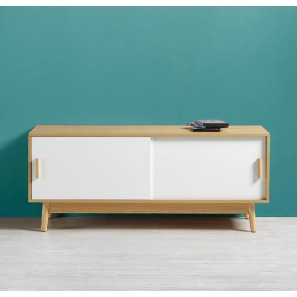 tv element aliona mit massivholzf en online kaufen m max. Black Bedroom Furniture Sets. Home Design Ideas