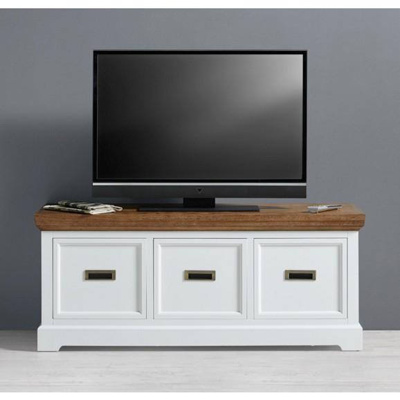 tv element in wei aus holz melanie online kaufen m max. Black Bedroom Furniture Sets. Home Design Ideas