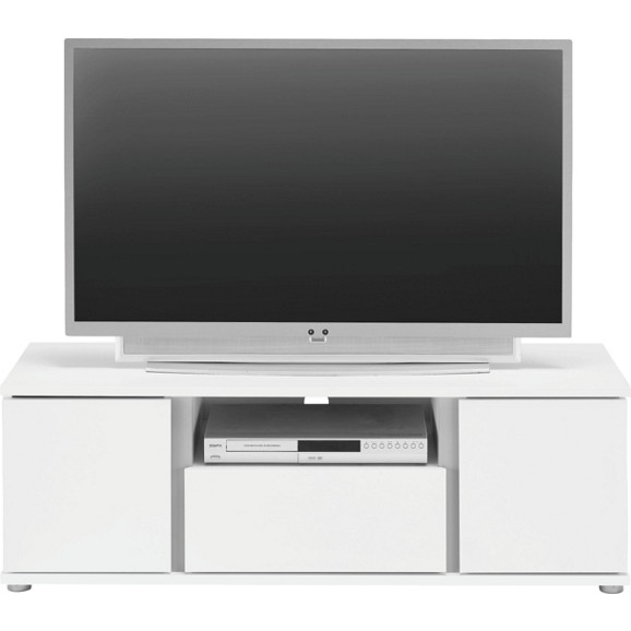 tv element in wei mit 2 t ren online kaufen m max. Black Bedroom Furniture Sets. Home Design Ideas