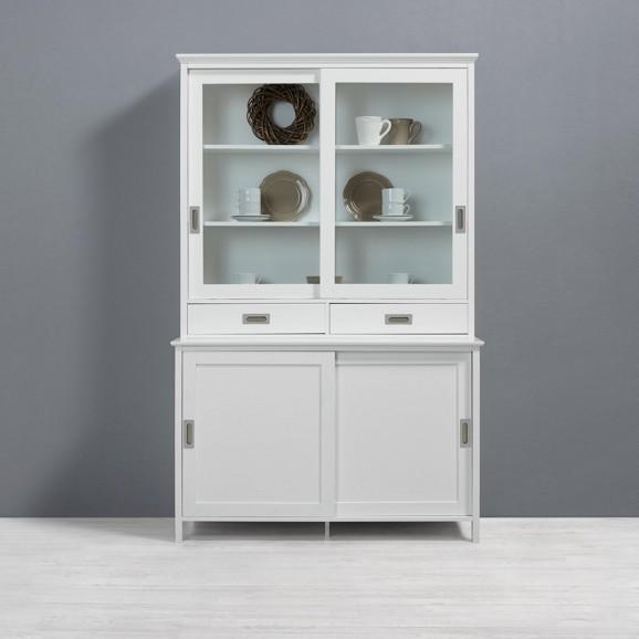 vitrine im landhaus stil gil online kaufen m max. Black Bedroom Furniture Sets. Home Design Ideas