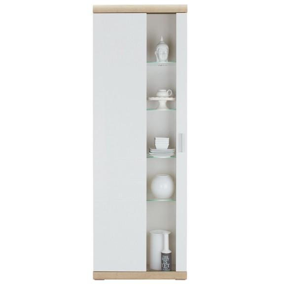 vitrine in wei hochglanz online kaufen m max. Black Bedroom Furniture Sets. Home Design Ideas