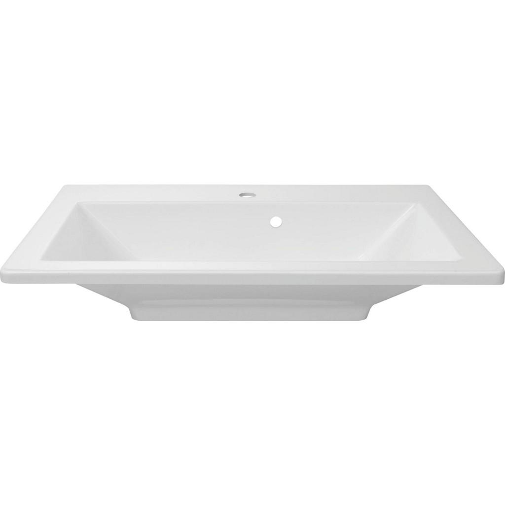 Vorschaubild von Waschbecken in Weiß Aus Gussmarmor