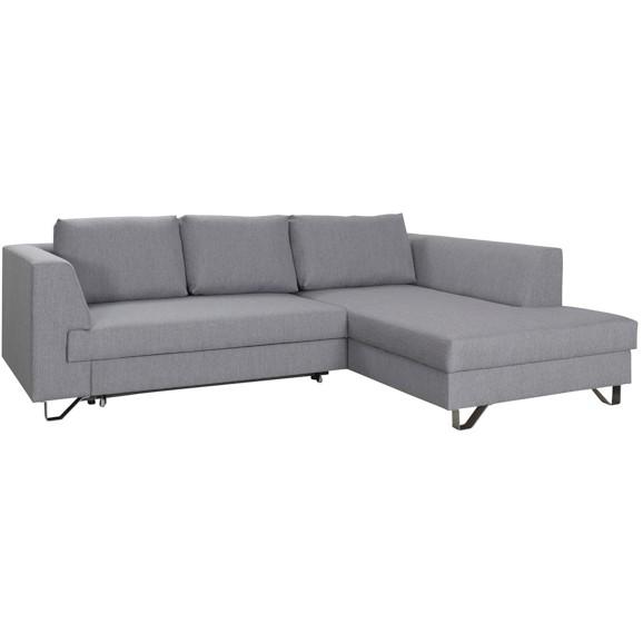 wohnlandschaft in hellgrau online kaufen m max. Black Bedroom Furniture Sets. Home Design Ideas
