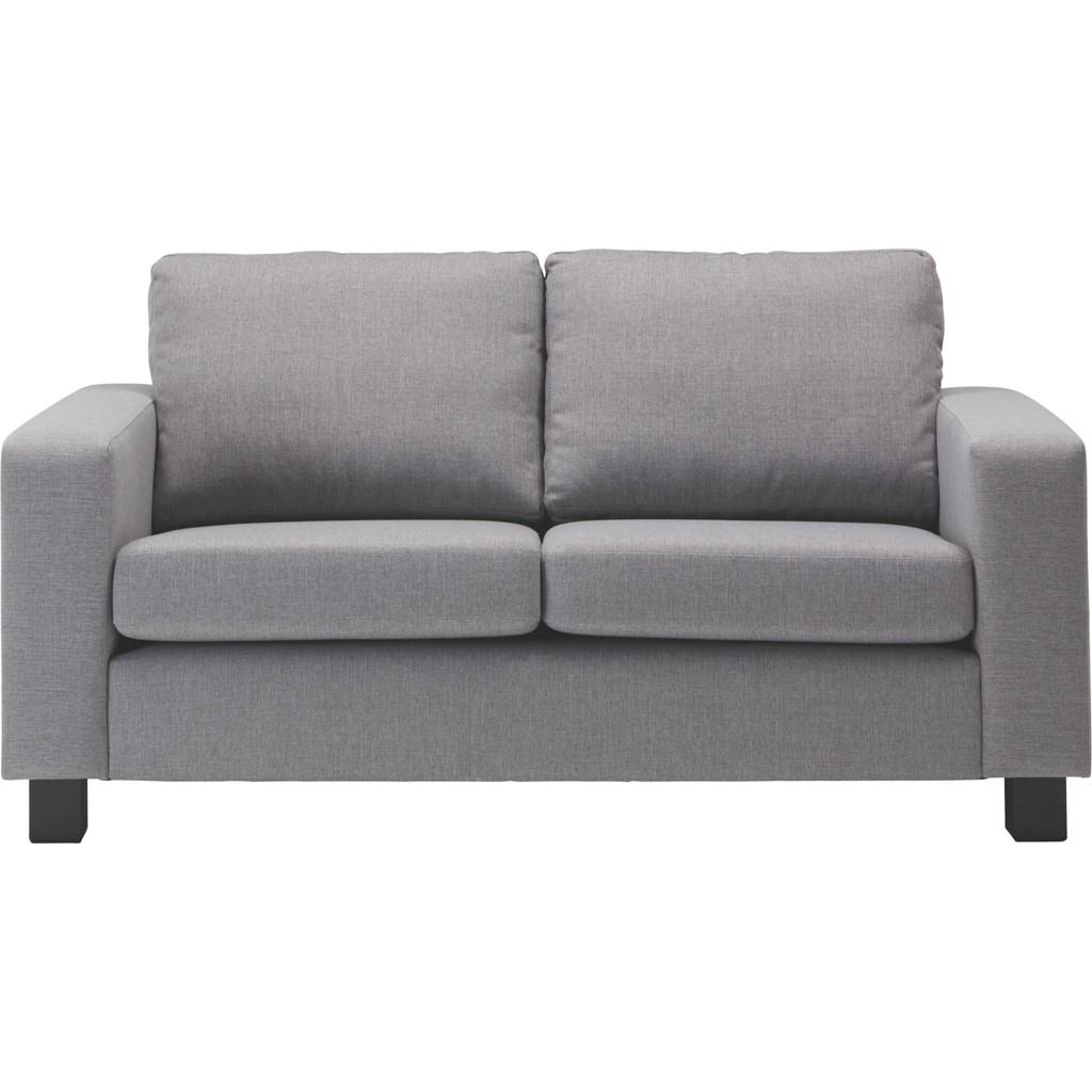 Zweisitzer-sofa in Grau